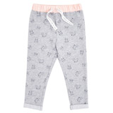 print Toddler Jogpants With Woven Waistband