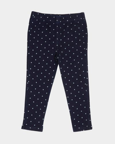 Spot Print Jeggings (6 months-4 years)