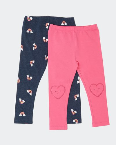 Leggings - Pack Of 2 (6 months-4 years) thumbnail