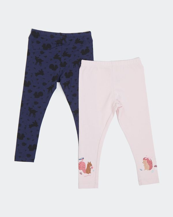 Leggings - Pack Of 2 (6 months-4 years)