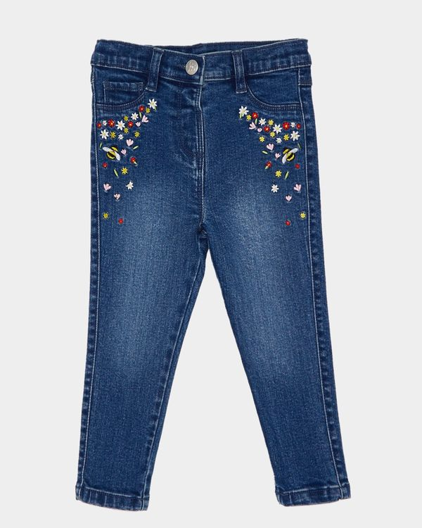Embroidered Jeans (6 months-4 years)