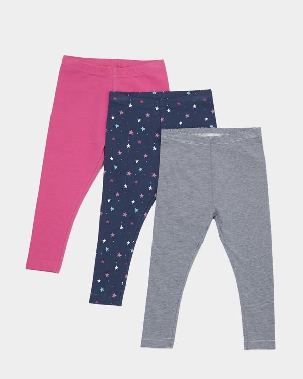 Legging - Pack Of 3 (0 months - 4 years)