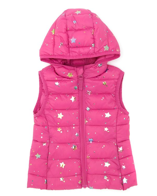 Foil Print Gilet (6 months-4 years)