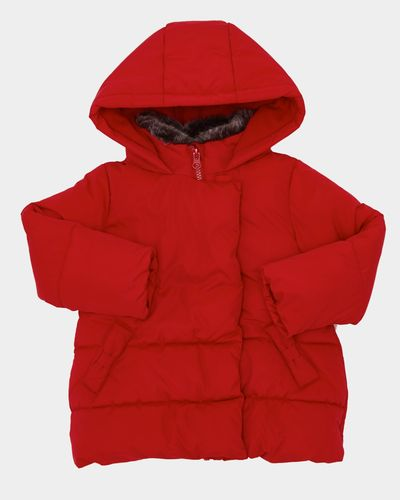 Bow Padded Jacket (6 months-4 years)