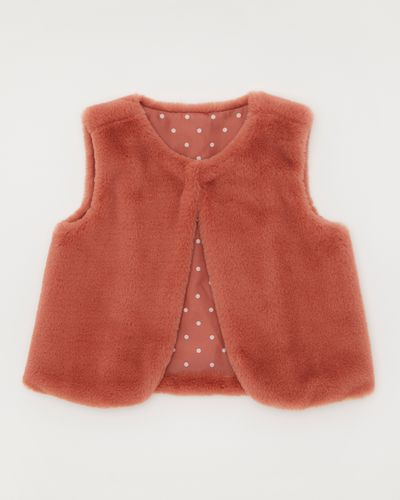 Faux Fur Gilet (6 months-4 years)