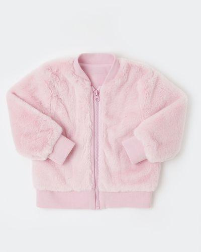 Faux Fur Bomber Jacket (6 months - 4 years) thumbnail