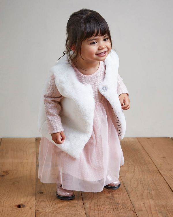 Faux Fur Gilet (0 months-4 years)