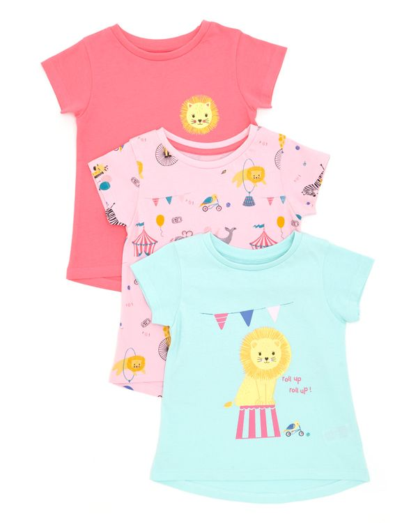 Circus Top - Pack Of 3 (6 months-4 years)