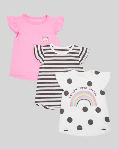 T-Shirt - Pack Of 3 (6 months - 4 years)