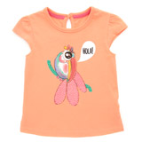 orange Toddler Styled T-Shirt