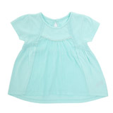aqua Toddler Crinkle Panel Swing T-Shirt