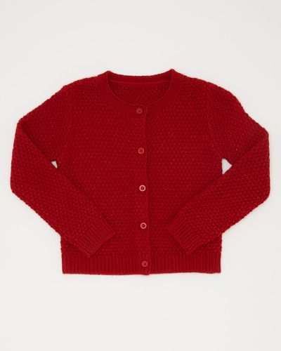 Lurex Stitch Cardigan (6 months-4 years)