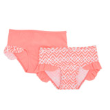 coral Swim Briefs - Pack Of 2