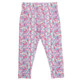 lilac Older Girls Cropped Leggings