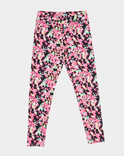 Girls Geo Print Leggings (4-14 years)