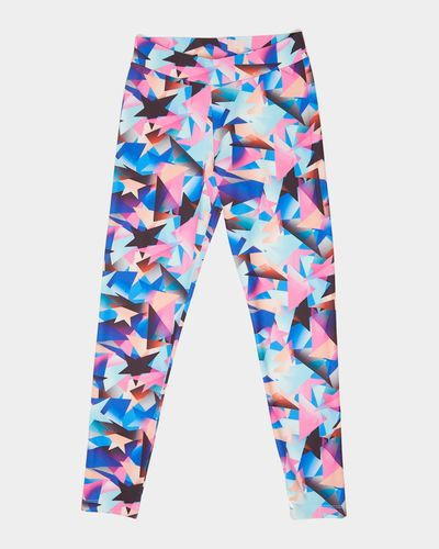 Girls Star Sublimation Leggings (8-14 years)