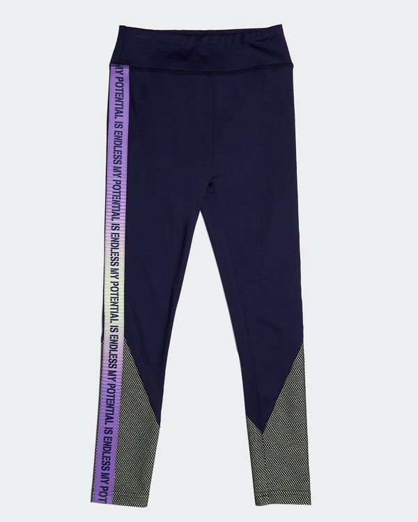 Girls Slogan Leggings (4-14 years)