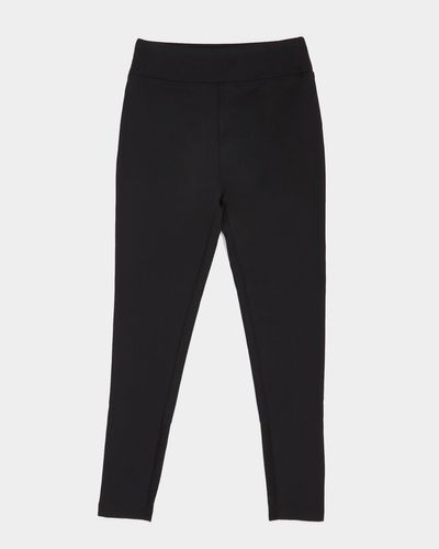 Girls Black Sporty Legging (4-14 years)