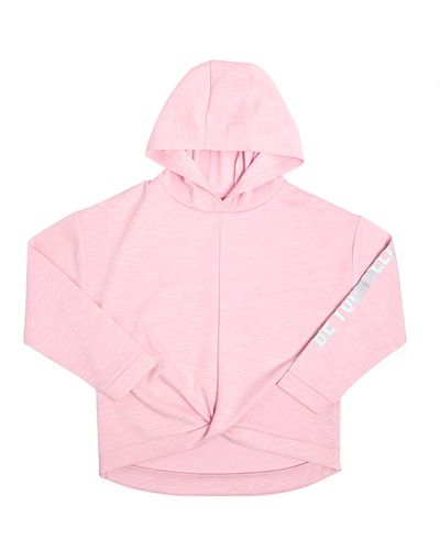 Girls Twist Front Hoodie (4-14 years)