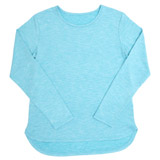 aqua Older Girls Long-Sleeved Sporty Top