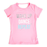 pink Girls Slogan T-Shirt