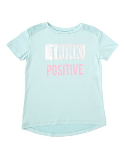 Girls Slogan T-Shirt (4-14 years)