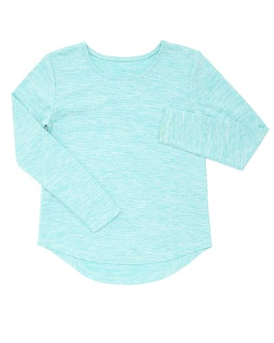 Girls Long-Sleeved Sporty Top (5-14 years)