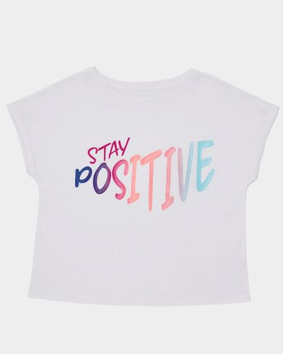 Girls Stay Positive T-Shirt (4-14 years)