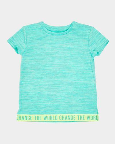 Girls Slogan T-Shirt (4-14 years)