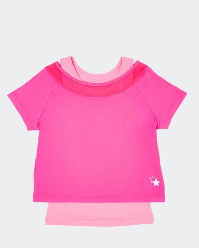 Girls Twofer Mesh T-Shirt (4-14 years) thumbnail