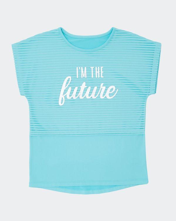 Girls Twofer Short-Sleeved T-Shirt (4-14 years)