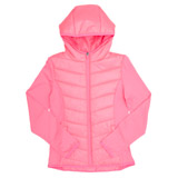 coral Girls Hooded Jacket
