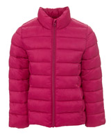 magenta Superlight Funnel Neck Jacket (3-14 years)