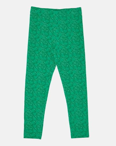 St. Patrick's Day All-Over Print Leggings (4-10 years)