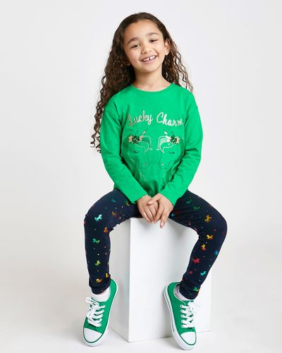 St. Patrick's Day Unicorn Top (4-10 years)