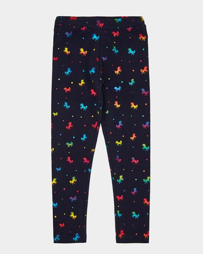 Unicorn Foil Leggings - St. Patrick (4-10 years)