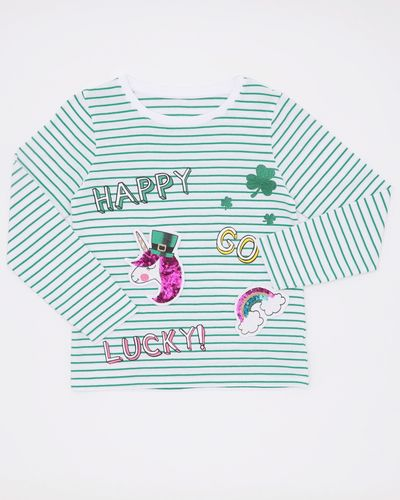 Girls Flippy Paddy Long-Sleeved Top (4-10 years)