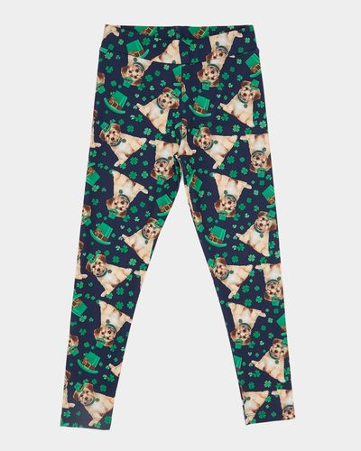St. Patrick's Day Sublimation Leggings (4-10 years)
