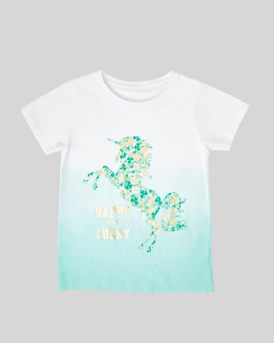 Girls Ombre St. Patrick's T-Shirt (2-14 years) thumbnail