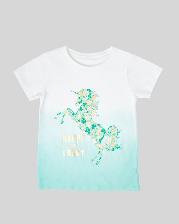 Girls Ombre St. Patrick's T-Shirt (2-14 years)