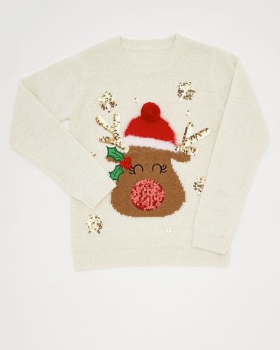 Rudolph Christmas Jumper (4-14 years)