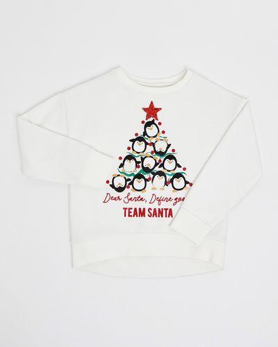 Penguin Christmas Sweatshirt (4-10 years)