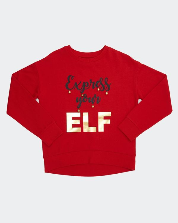 Older Girls Xmas Elf Sweatshirt (7-14 years)