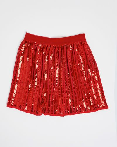 Girls Sequin Skirt (4-10 years)