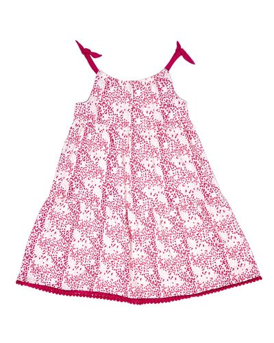 Girls Tiered Jersey Dress (4-10 years)