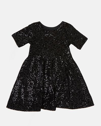 Girls Sequin Dress (4-14 years)
