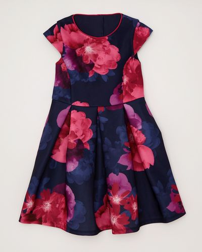 Girls Floral Prom Dress (4-10 years)