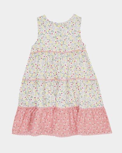 Girls Pom Pom Dress (4-10 years)
