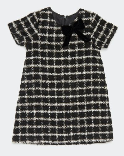 Girls Tweed Check Dress (2-8 years) thumbnail