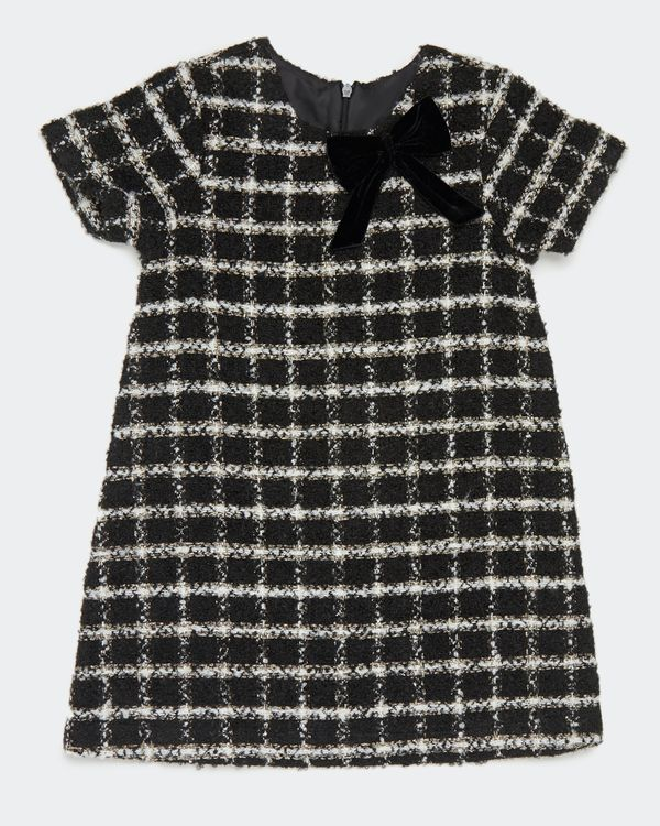 Girls Tweed Check Dress (2-8 years)
